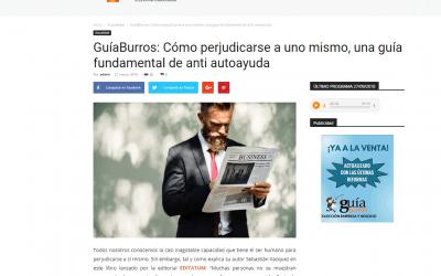 Colaborum, medio especializado, se hace eco del GuíaBurros: Cómo perjudicarse a uno mismo, de Sebastián Vázquez